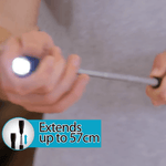 Telescopic Flexible Magnetic Flashlight
