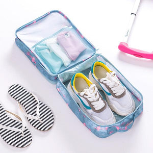 Travel Shoe Bags-Holds 3 Pair of Shoes