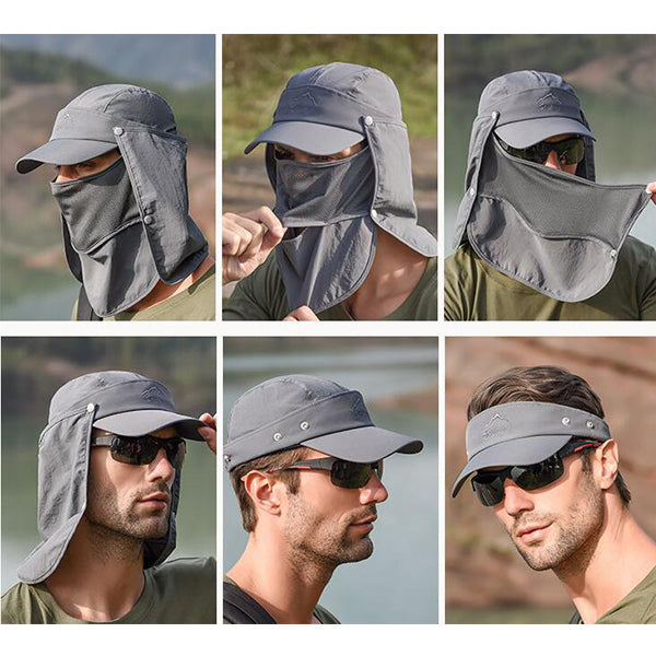 4 in 1 Outdoor Sport Hiking Visor Hat-Buy 2 Get 10%OFF+Free Shipping
