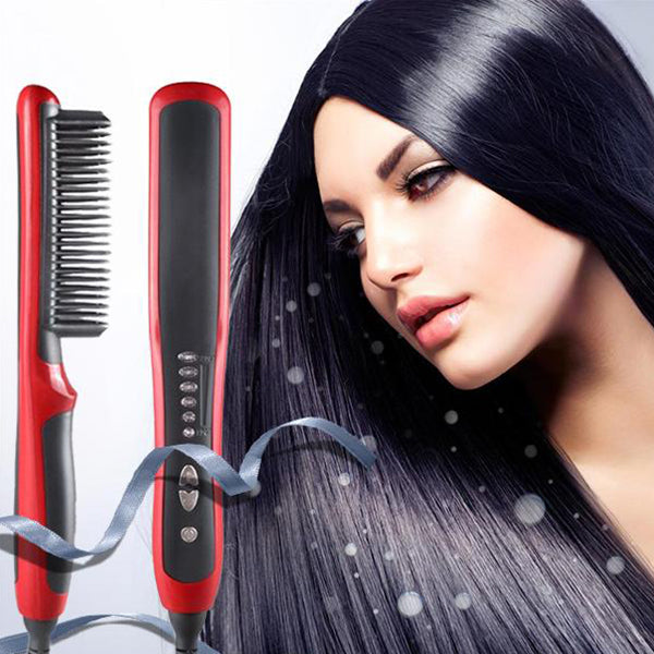 (Last Day Promotion 40% OFF) 2019 The New Hair Straightener Brush