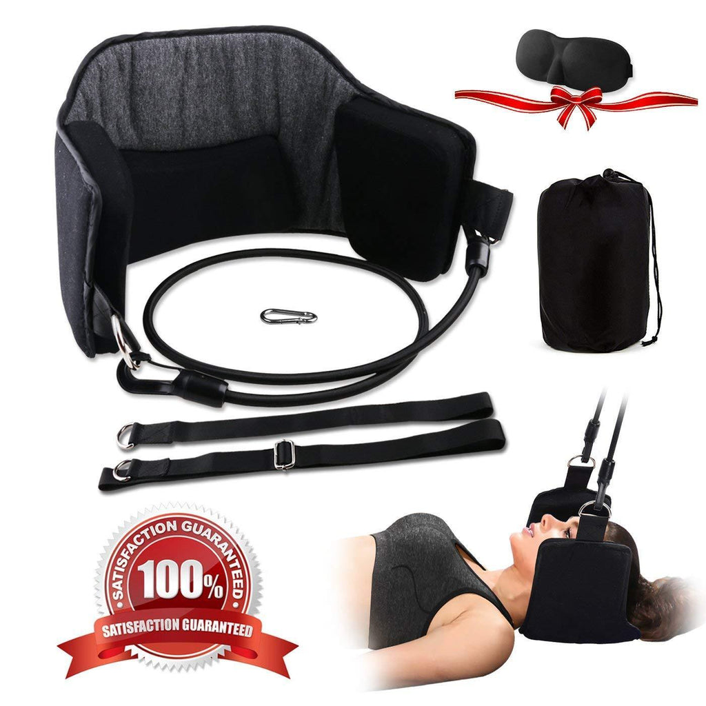 LIMITED SALES-Portable Cervical Traction and Relaxation Device