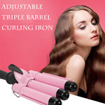 Adjustable Triple-Barrel Curling Iron-Buy 2 Get 10%OFF + Free Shipping