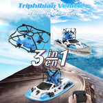 (Last Day Promotion 40% OFF)-Three-in-one Triphibian Vehicle Toy