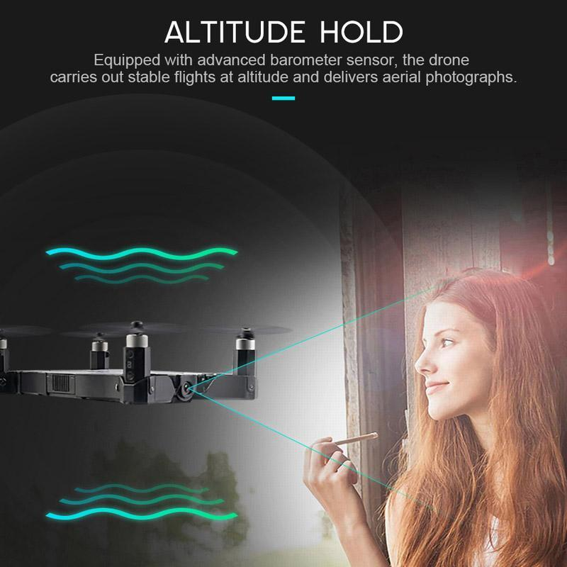 (Last Day Promotion 40% OFF)Ultra-thin Pocket drone-air photographer