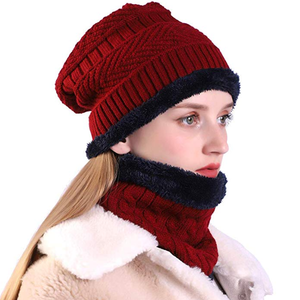 Beanie Hat Scarf Set-Buy 2 Get 10%OFF & Free Shipping