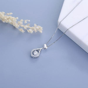 Twinkling Heart Waterdrop Stone Necklace-buy 2 free shipping