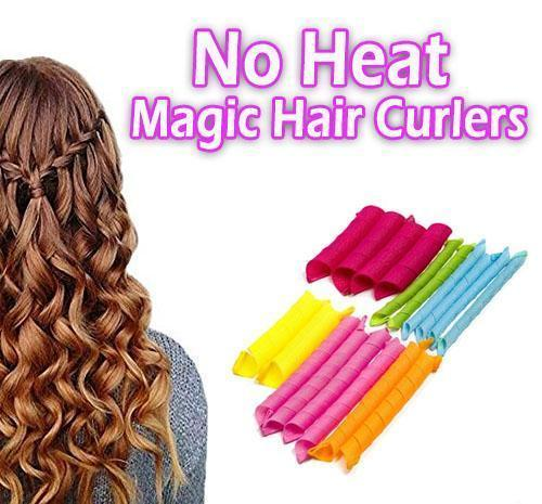 No Heat Magic Hair Curlers(1 Pack=12 Pcs)-Buy 3 Get 4+Free Shipping