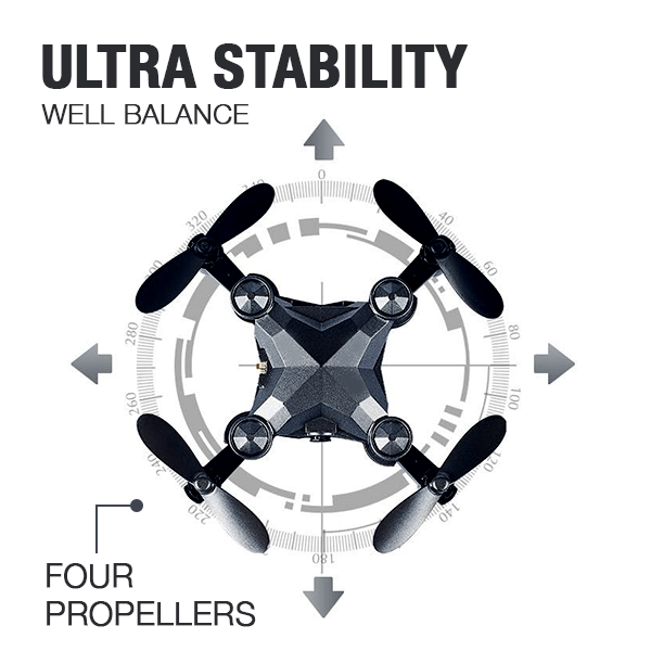 (Last Day Promotion 40% OFF)Foldable Mini Drone Camera - Buy 2 Get 10%OFF & Free Shipping
