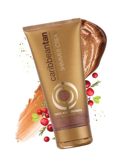 Tinted Body Bronzer Shimmer Cream - Self Tan