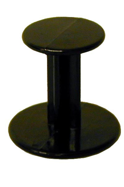 Double ended Black Plastic Coffee Tamper - Barista Shop