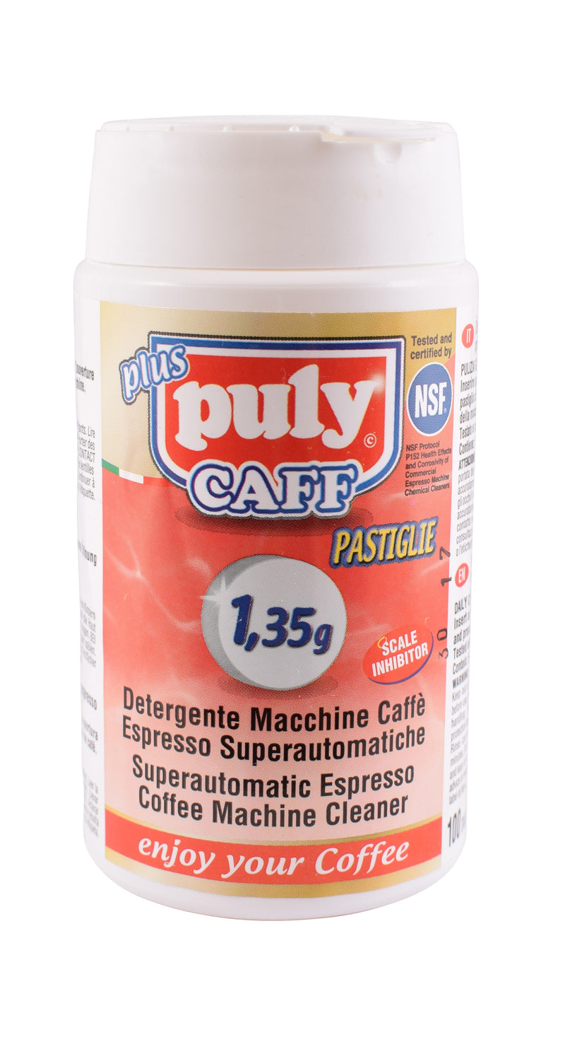 PULY CAFF TABLETS TUB OF 100 - 1.35 GRM - NEW - Barista Shop