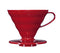 HARIO COFFEE DRIPPER V60 02 RED PLASTIC - Barista Shop