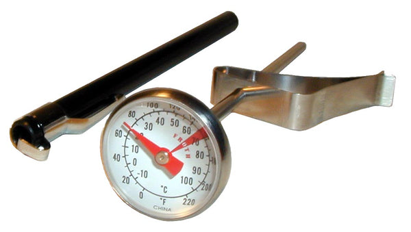 Small Economy Thermometer with Clip Dual Dial - Barista Shop