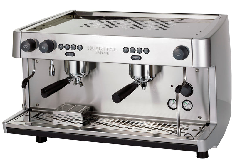Iberital LANNA INTENZ 2-Group Fully Auto 5KW - ALTO ALUM - Barista Shop