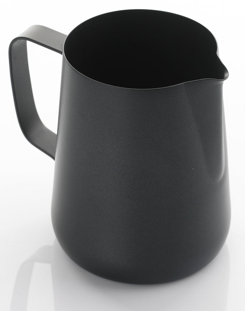 Yagua Teflon Coated Foaming Jug (1.5 Ltr Black) - Barista Shop