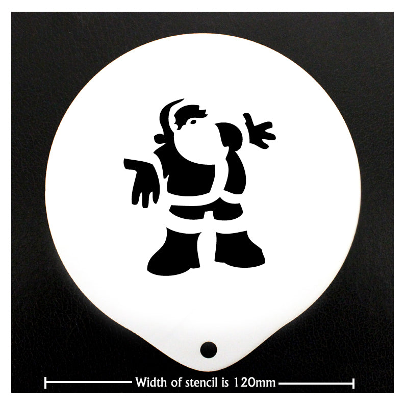 Stencils - Father Christmas - Barista Shop