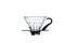 Hario Glass Coffee Dripper V60 - Black/Clear Size 01 - Barista Shop