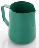 Yagua Teflon Coated Foaming Jug (1 ltr Green) - Barista Shop