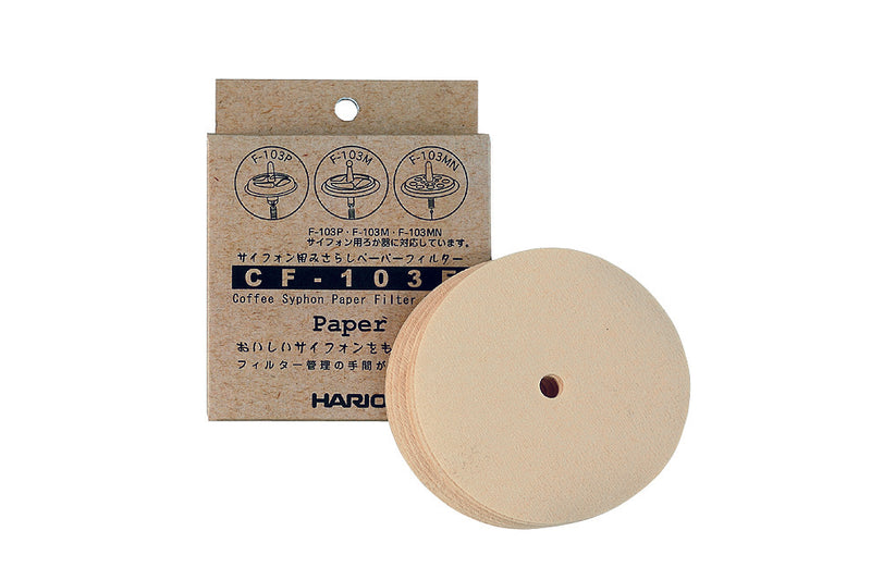 Hario Syphon Paper Filter 100 Sheet Pack - Barista Shop
