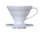 Hario Coffee Dripper V60 Plastic - White Size 01 - Barista Shop