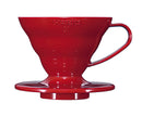 Hario Coffee Dripper V60 Plastic - Red Size 01 - Barista Shop