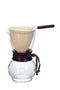 Hario Drip Coffee Pot Wood neck - 3 Cup - Barista Shop