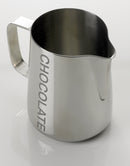 Yagua 1 ltr Etched 'CHOCOLATE' Foaming Jugs - Barista Shop