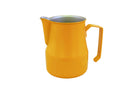 Motta Foaming Jug Teflon Coated (500ml Orange) - Barista Shop