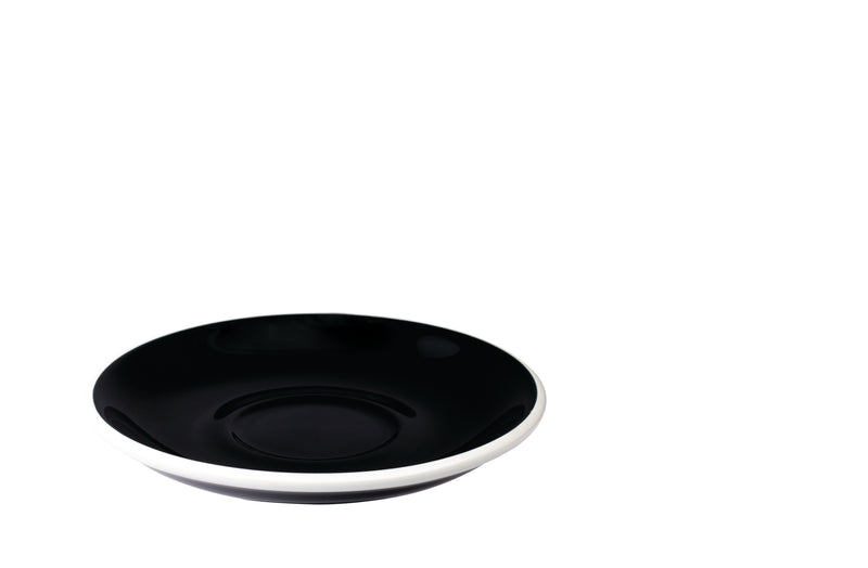 Loveramics Egg Cappuccino Saucer 14.5 cm / 7 oz. (Black) - Barista Shop