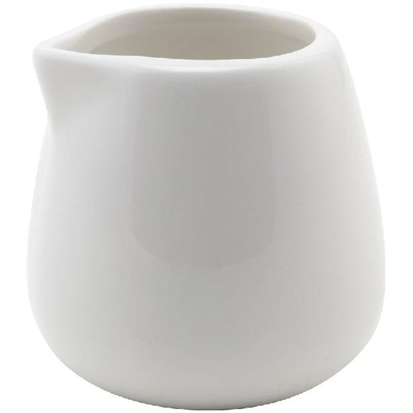 Small Ceramic Milk Jug No Handle (3 oz) - Barista Shop