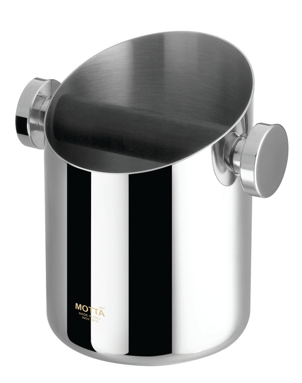 Motta Knock Box Polished Stainless Steel - Barista Shop