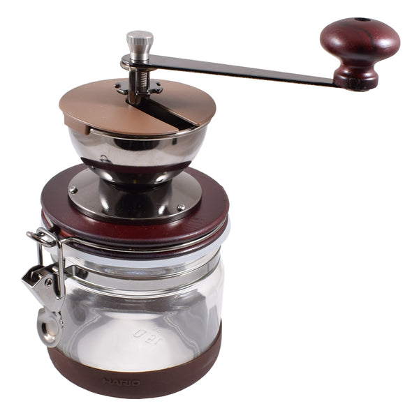 Hario Ceramic Burr Canister Coffee Grinder - Barista Shop