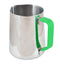 Yagua Silicone Handle Sleeve for Milk Jugs (Green, fits 600ml Yagua Jugs) - Barista Shop
