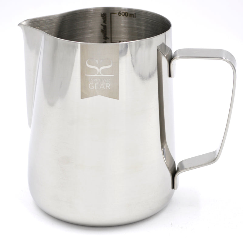 Espresso Gear Lined Frothing Pitcher 600 ml - Barista Shop