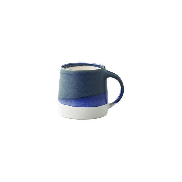 Kinto Dual Colour Large Porcelain Mug 320 ml (Navy/White) - Barista Shop