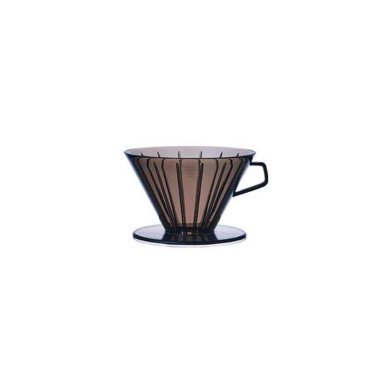 Kinto Coffee Brewer - Clear Grey Plastic 4 Cup - Barista Shop