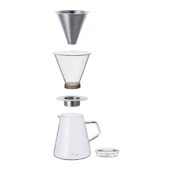 Kinto Carat Dripper & Pot - Complete Set - Barista Shop