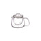 Kinto Teapot Set 500 ml with Glass Strainer - Barista Shop
