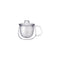 Kinto Unimug with Strainer (Clear 350 ml) - Barista Shop