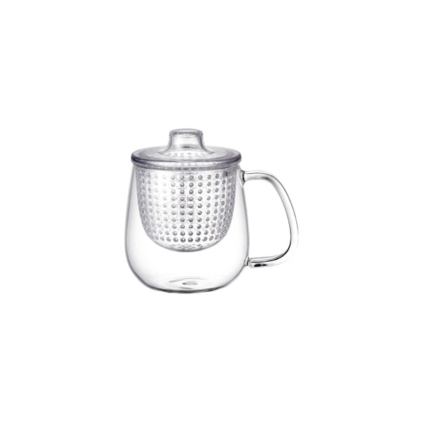 Kinto Unimug with Strainer (Clear 450 ml) - Barista Shop