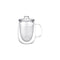 Kinto Unimug with Strainer (Clear 510 ml) - Barista Shop