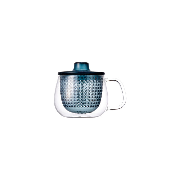 Kinto Unimug with Strainer (Navy 350 ml) - Barista Shop