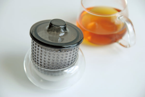 Kinto Unimug with Strainer (Grey 350 ml) - Barista Shop