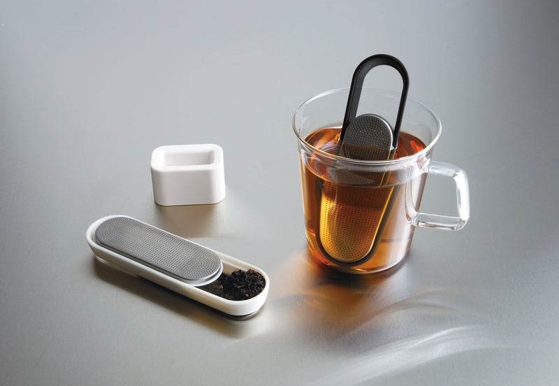 Kinto Loop Tea Strainer (White) - Barista Shop