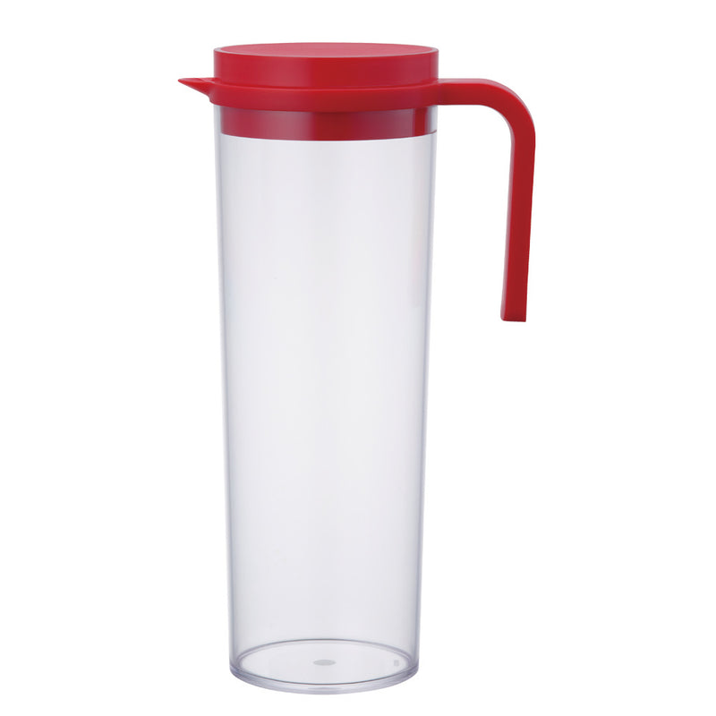Kinto Plug Water Jug 1.2 L (Red) - Barista Shop