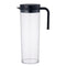 Kinto Plug Water Jug 1.2 L (Black) - Barista Shop