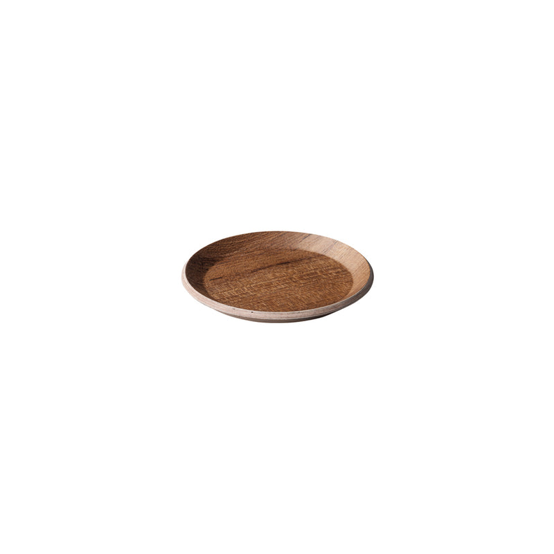 Kinto Cast Coaster Teak - Barista Shop