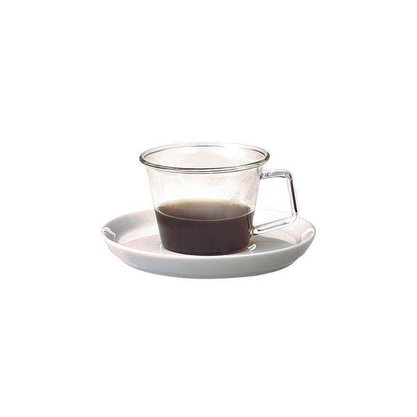 Kinto Cast Espresso Cup and Saucer Set 90 ml - Barista Shop