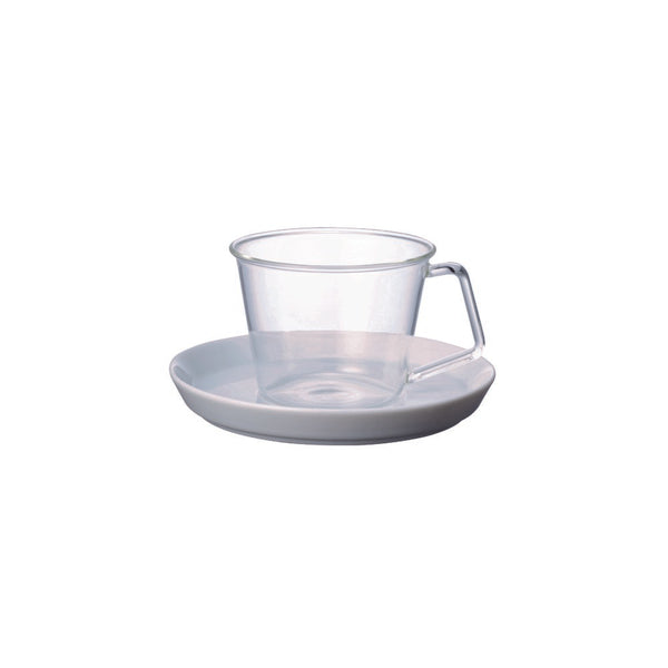 Kinto Cast Coffee Cup and Saucer Set 220 ml - Barista Shop