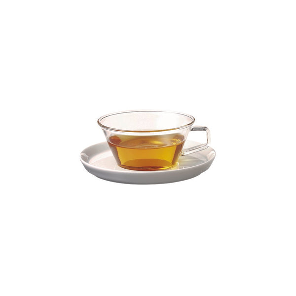 Kinto Cast Tea Cup and Saucer Set 220 ml - Barista Shop